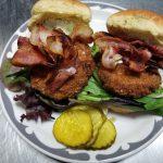 Green BLT Sandwich